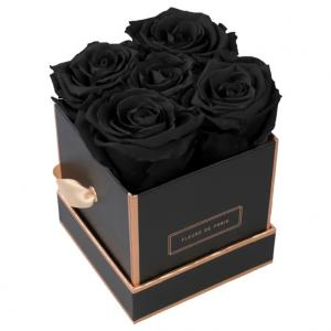 The Rosé Gold Collection Black Beauty Small schwarz - eckig